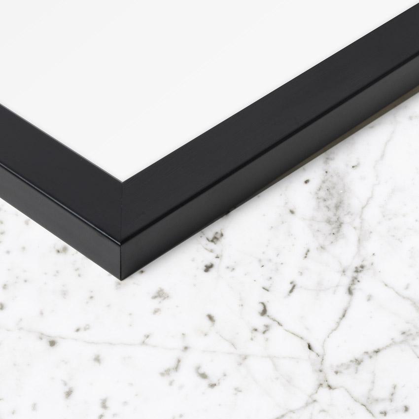 ram - svart - 50x70 cm